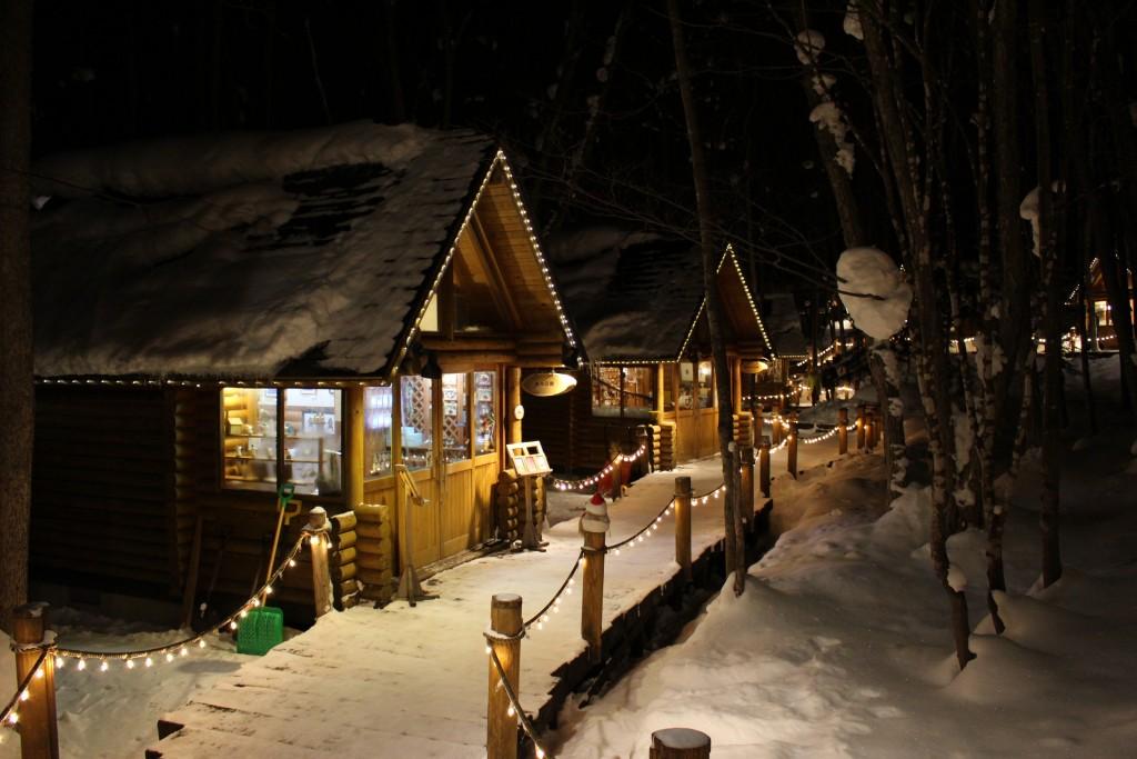 森之時計_富良野王子飯店藝品小木屋