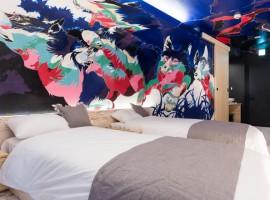 睡在藝廊裡?!東京高圓寺藝術旅店開幕