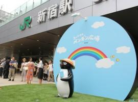 新宿車站全新集合地標物「Suicaの企鵝廣場」誕生!
