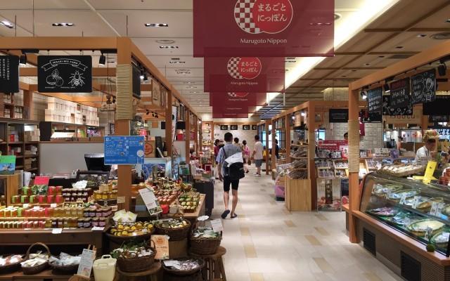 淺草最新!一整棟的地方職人物產店 Marugoto Nippon