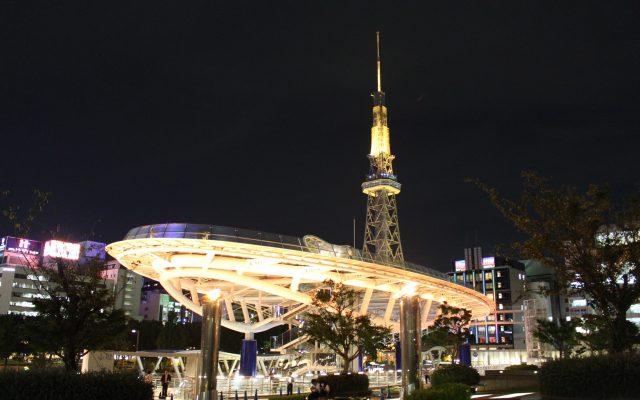 在名古屋,感受未來與過去的心脈