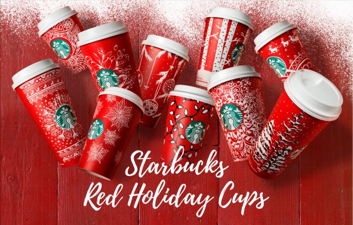 好想一次全部收藏!星巴克聖誕節限定版10款設計紙杯正式登場!