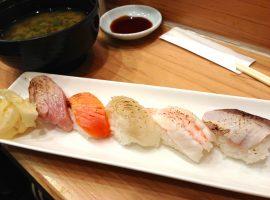 【新宿必吃】藏在新宿站的美食SHINODA壽司