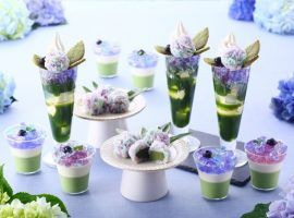 【京都必吃甜點】季節限定!店鋪限定!賞心悅目的紫陽花聖代怎能錯過