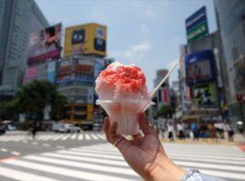 【期間限定】澀谷新名物,夏日限定街頭甜品「澀谷HACHI冰」