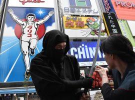 【大阪 道頓堀】來一趟忍者船之旅吧!體驗穿梭古今