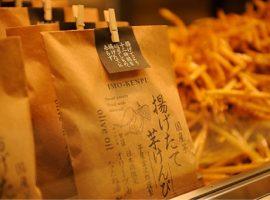 【東京必買零食】四國高知地瓜名店「芋屋金太郎」,現炸地瓜條東京日本橋限定販售