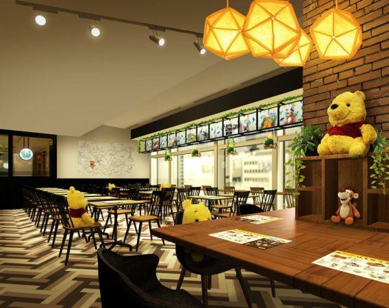 【期間限定】滿滿蜂蜜與野菜的限定餐點,小熊維尼的「蜂蜜咖啡店」超可愛登場!
