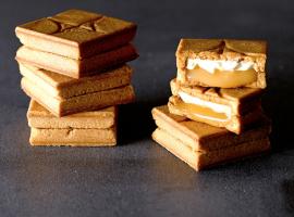 東京新名產 PRESS BUTTER SAND 焦糖和奶油,在夾心餅乾中浪漫相遇!