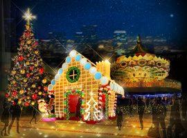 【東京必去】TOKYO DOME CITY冬季燈飾將打造甜蜜夢幻糖果屋世界