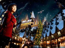 【大阪必去】到魔法世界過聖誕,日本環球影城冬季霍格華茲城堡秀全新登場