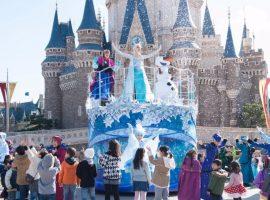 【東京必去】東京迪士尼樂園冬季「冰雪奇緣」特別遊行及園區活動1月登場,盡情享受冰雪魔法的夢幻世界