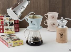 【日本必買】與米奇米妮共度咖啡時光,日本老牌咖啡器具製造商Kalita推出迪士尼合作系列