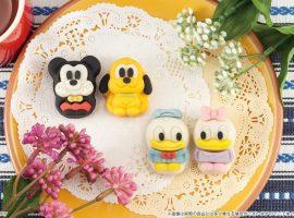 【必吃甜點】日本7-11推出迪士尼Q版和果子新年特別版,狗年主角布魯托也登場囉