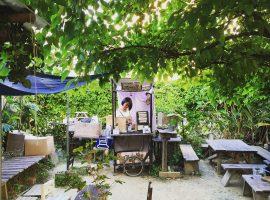 【沖繩】咖啡控必去!天空下,秘境的庭園咖啡:雲雀屋