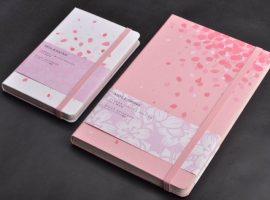 【櫻花限定商品】經典筆記本品牌 MOLESKINE 在日本推出限定款櫻花筆記本