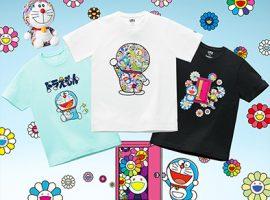 【必買商品】村上隆 X 哆啦A夢 X UNIQLO UT跨界合作,推出系列印花UT及同款玩偶