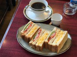 【築地】煉瓦:小巷裡的老派喫茶店,令人魂縈夢牽的三明治