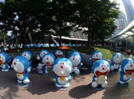 【夏日東京必去】快來六本木HILLS夏日祭典SUMMER STATION,整個廣場的哆啦A夢等你來一起來玩耍
