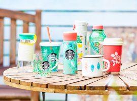 【日本必買】星巴克推出森林系週邊商品,讓清新可愛的花草及小動物伴你度過炎炎夏日