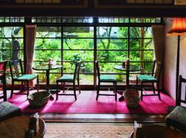 【鎌倉】在日式老宅裡優雅享受一場英倫下午茶 Garage Blue Bell