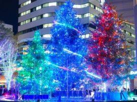 【東京必去】東京MIDTOWN日比谷迎接首次聖誕燈飾,8公尺高聖誕樹璀璨登場