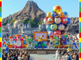 東京迪士尼海洋特別活動「皮克斯遊戲時間」好吃好玩又好買,期間限定度假區彩繪列車同時開跑